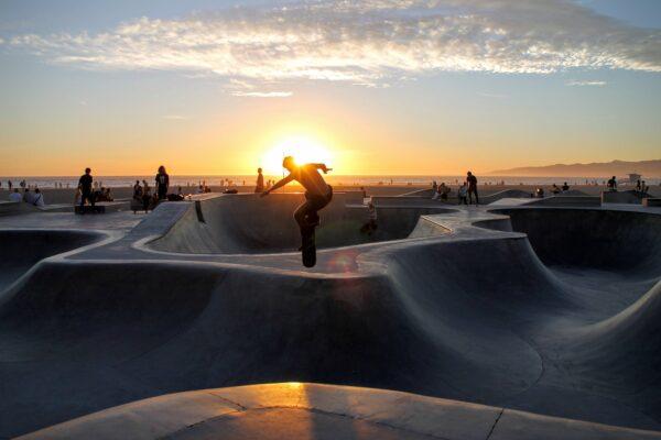 Bild eines Skateparks